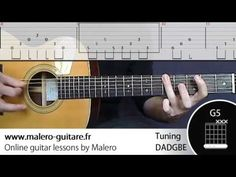 """Black Hole Sun"" Tablature guitare & accords - YouTube"