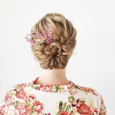 Beautiful bridal updo hairstyle perfect for any wedding venue - Beautiful wedding hairstyle Get inspired by fabulous wedding hairstyles,low bridal updo