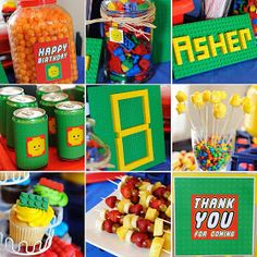 Mommy Lessons 101: Lego Birthday Party Ideas