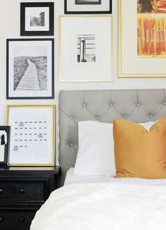 Un proyecto DIY sencillo y entretenido. Cómo hacer cabeceros de cama tapizados con capitoné para darle un aire elegante a tu dormitorio.