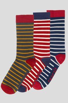 Men's Sailor Socks Gift Box | Soft Bamboo Striped Socks