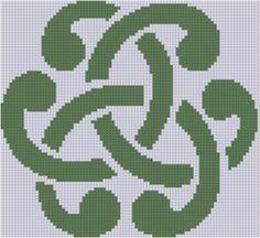 Celtic Ornament Cross Stitch Pattern