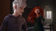 I love how everyone excepts the fact that Jack and Merida bug one another. All the time.