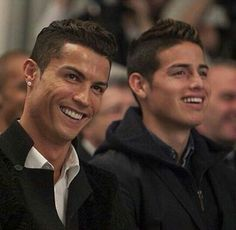 Cristiano Ronaldo and James Rodriguez