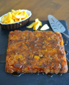 An ooey-gooey jackfruit upside down cake, similar to a pineapple upside down cake, but with sweet golden ripe jackfruit as the star ingredient. Jackfruit Dessert Recipes, Dessert Cake Recipes, Desserts, Ripe Jackfruit, Jackfruit Cake, Grilling Recipes, Seafood Recipes, Baking Recipes, Dessert