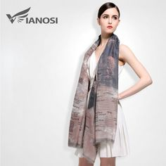 [VIANOSI] New 190*110CM Fashion Cotton Scarf Women Spain Scarf High Quality Print Brand Shawls and Scarves for Women VA030