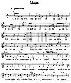 Ноты для синтезатора