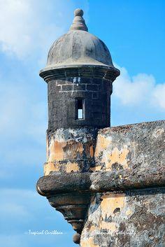 El Morro castle, old San Juan, Puerto Rico