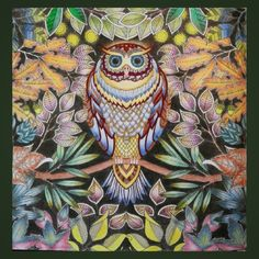 Johanna Basford | Colouring Gallery colored pencils by Pentel, colored pens by Stabilo Boss & Staedtler