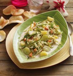 Recipe of the week - Spicy vegetables in coconut milk (Indonesia)
