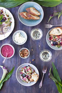Fig Quinoa Salad with a Fig Feta Vinaigrette - CaliZona