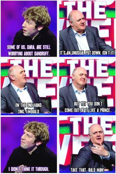 Dandruff | Josh Widdicombe and Dara O'Briain | Mock the Week