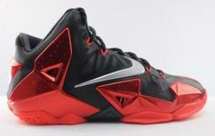 "Nike LeBron 11 Black/Red - New Photos (@Jim _ @Nike)- http://getmybuzzup.com/wp-content/uploads/2013/10/206101-thumb.jpg- http://getmybuzzup.com/nike-lebron-11-blackred-new-photos-kingjames-nike/-  Nike LeBron 11 Black/Red – New Photos It looks like it will be a another great year for Nike LeBrons with the likes of the ""King's Pride"" and the ""Terracotta Warrior"". This Nike LeBron 11 Black/Red will most likely be one of King James&#82"