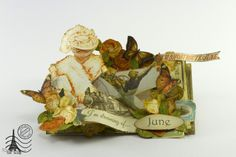 """Card """" Welcome June"""" by Tati Scrap #graphic45 #cards"""