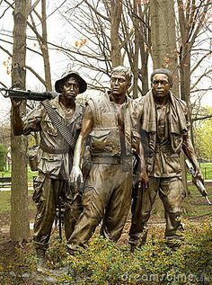 Vietnam War Memorial Stock Image -
