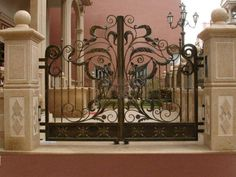 Wrought Iron Gate - Designed From Antiquity - WIG902