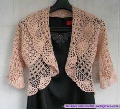 Un bolero muy delicado… | Mi Rincon de Crochet