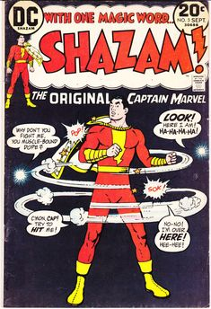 Shazam 5 comic book with Captain Marvel, Billy Batson, and Mary Jr. The Original hero. Bronze Age, DC Comics from 1973 in VF+ (8.5)
