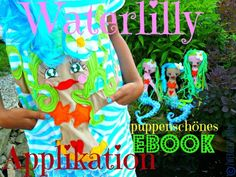 ♥WATERLILLY♥ PUPPENSCHÖNES eBOOK Applikation!!!  www.shop-2013.tausendschoenes.com