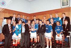 1995 League Winners Glasgow Rangers