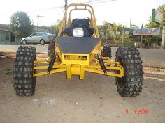 Kart Cross Piranha amarelo frente