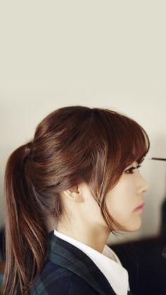 LOVELYZ - Baby Soul #베이비소울 (Lee SuJeong #이수정) 141217 : 러블리즈[Lovelyz] 고화질화보 : 베이비소울/유지애/서지수/이미주/Kei/JIN/류수정/정예인 : 네이버 블로그 Jin, South Korean Girls, Korean Girl Groups, Woollim Entertainment, Debut Album, Pop Group, Beauty Women, Asian Beauty, Hair Inspiration