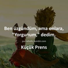 Kucuk Prens Text Quotes, Poetry Quotes, Book Quotes, Good Sentences, Sad Pictures, Lost In Translation, Movie Lines, Magic Words, The Little Prince