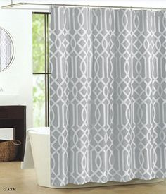 Taupe Shower Curtains And Paisley On Pinterest