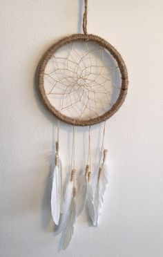 What Do Dream Catchers Do Easy Diy Feather Dream Catcher Do It Yourself Today  Pinterest