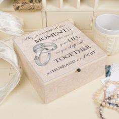 Wooden Wedding Keep Sake Box