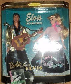 Elvis & Barbie Doll.