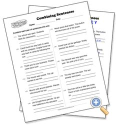 Conjunctions...and, but, or | TWS- Conjunctions/Compound Sentences ...