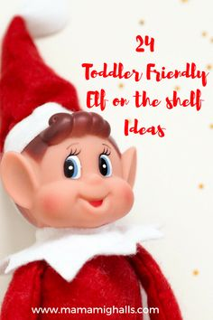 24 Toddler Friendly Elf On The Shelf Ideas 2018 - Amy Mighalls Elf On The Self, The Elf, Christmas Elf, Christmas Ideas, Xmas, Christmas Preparation, Religious Symbols, Other Mothers, Child Love