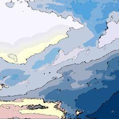 'Sky Scape' von Dirk h. Wendt bei artflakes.com als Poster oder Kunstdruck $19.41
