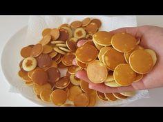 Μίνι τηγανίτες σε 5 λεπτά! Διάσημη συνταγή μίνι τηγανίτας TIKTOK! Δημητριακά τηγανιτών! #261 - YouTube Mini Pancakes, Cereal, Finger Foods, Real Food Recipes, Birthdays, Appetizers, Vegan, Vegetables, Waffle