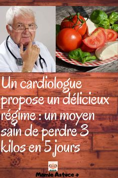 A cardiologist offers a delicious diet: a healthy way to lose 3 pounds in 5 days Sixpack Training, Cardio, 3 Pounds, Yummy Food, Tasty, Healthy Drinks, Metabolism, Food Videos, Weight Loss