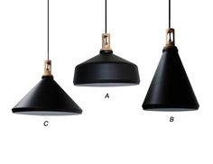 Middle one type A for above the bench in kitchen. Raine (091A-BK)-EDEN LIGHT New Zealand