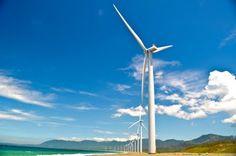 Wind turbines, Ilocos Norte