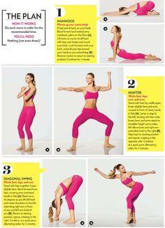 Interesting yoga workout