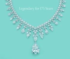Tiffany's Gorgeous diamond necklace. In a class all by it's self ♥.