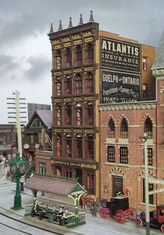 Model railroader John Ott has devoted years to creating a fantastically detailed, HO-scale recreation of Arkham, the site of HP Lovecraft's horror stories, complete with model railroad engines and historically accurate cars.(BoingBoing)