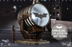 "Hot Toys ""The Dark Knight Rises"" John Blake and Jim Gordon with ..."