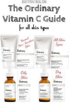 The Ordinary Vitamin C Guide