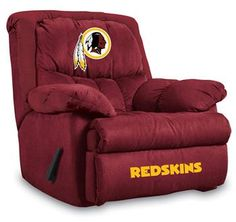 Use this Exclusive coupon code: PINFIVE to receive an additional 5% off the Washington Redskins Home Team Recliner at SportsFansPlus.com
