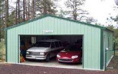 24 x 25 Steel Garage Kit by Absolute Steel