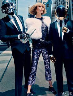 La moda y la música. Daft Punk #rtvang.com