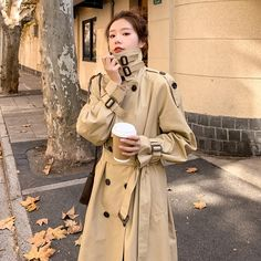 Girls Trench Coat, Trench Coats, Women's Briefs, England Fashion, Cotton Underwear, Sexy Stockings, Outerwear Women, Double Breasted, Cloak