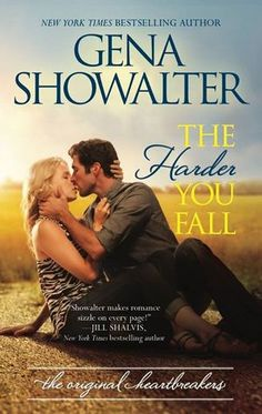 Cover Reveal: The Harder You Fall (The Original Heartbreakers #3) by Gena Showalter -On sale November 24th 2015 by HQN Books -Millionaire video-game creator Lincoln West has a dark and tragic past. The sought-after bachelor lives by a rigid schedule and a single rule—one relationship per year, lasting no more than two months. No exceptions. He moved to small town Strawberry Valley, Oklahoma, with his brothers-by-circumstance hoping to escape the worst of his memories—