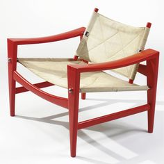 Hans Wegner LOUNGE CHAIR lacquered wood and fabric upholstery 27 1/8 in. (68.9 cm) high ca. 1958 manufactured by Johannes Hansen, Denmark
