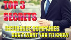 Personal Injury: Top 3 secrets insurance companies don't want you to know